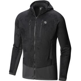 Mountain Hardwear M's Monkey Grid Hooded Jacket Black